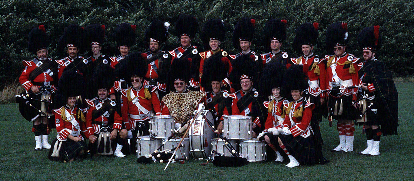Shirley Pipe Band - 1980s Photo Gallery