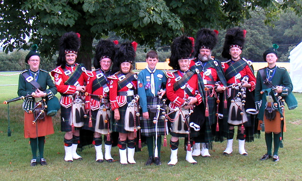 shirley pipe band 2000s photo gallery